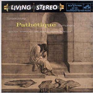 Photo of  the album cover of Tchaikovsky's Symphonie Pathetique